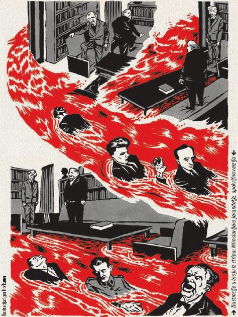 Ilustracija: Igor Hofbauer; Ilustracije u broju iz stripa: Miroslavljevo jevanđelje, apokrifna verzija