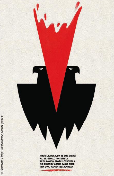 Ilustracije u broju: Lazar Bodroža, Gorski vijenac