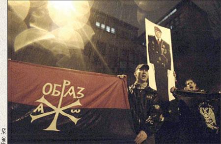 Za dom za vešanje spremni! / Beograd (7. II 2008): Napad desničarskih ekstremista na galeriju Kontekst
