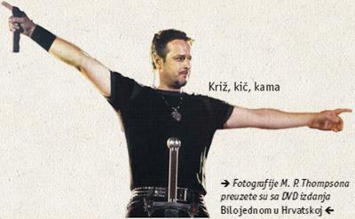 Križ, kič, kama / Fotografije M. P. Thompsona preuzete su sa DVD izdanja Bilo jednom u Hrvatskoj