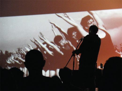 Sećanje bez zaštite / Foto: Vesna Jovanović, sa koncerta grupe Goribor