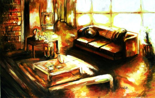 room_alone_oil_painting_by_ahmetbroge-d53nl72