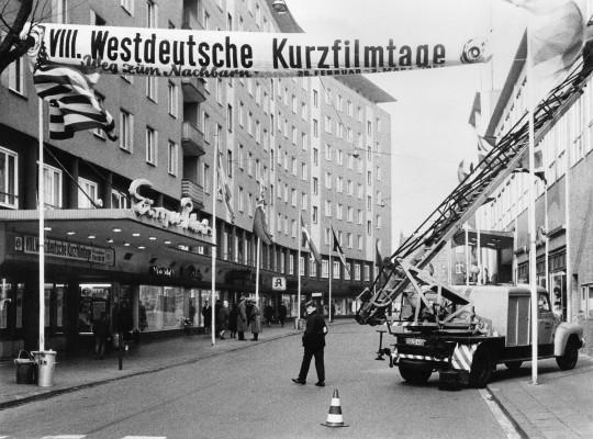Vorbereitungen 8. Westdeutsche Kurzfilmtage