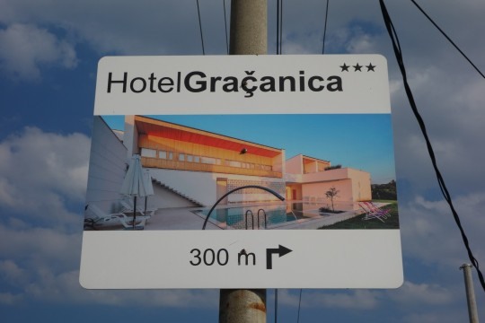 Hotel Gračanica; multikulti advertajzing
