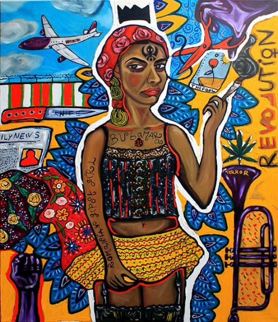 Paul Hitter Romanian Gipsy Girl Bubamara