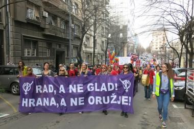 Zajedničko saopštenje povodom niza incidenata i napada na žene 8. marta