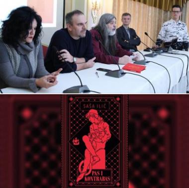 """NIN-ova nagrada Saši Iliću za roman """"Pas i kontrabas"""""""