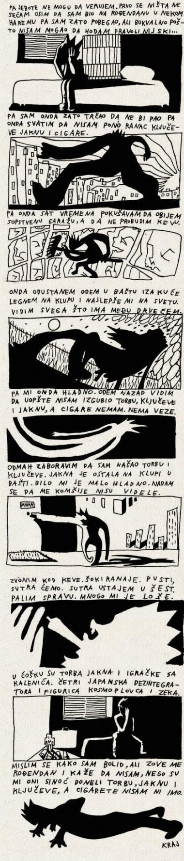 Radovan Popović Najgori & Wostok: JAKNA, TORBA, KLJUČ I PAKLA CIGARA KOJU NISAM NI IMAO